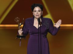 The Marvelous Mrs Maisel star Alex Borstein dedicated her Emmy Award win to her Holocaust survivor grandmother (Chris Pizzello/Invision/AP)