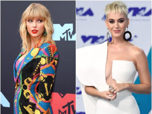 Katy Perry discusses ending her feud with Taylor Swift (PA Wire/PA)
