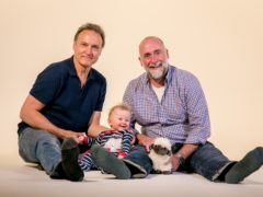 Adam Macy (Andrew Wincott), and Ian Craig (Stephen Kennedy) (PA/BBC)