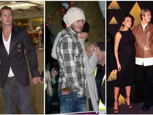 The couple have had various looks over the years (PA).