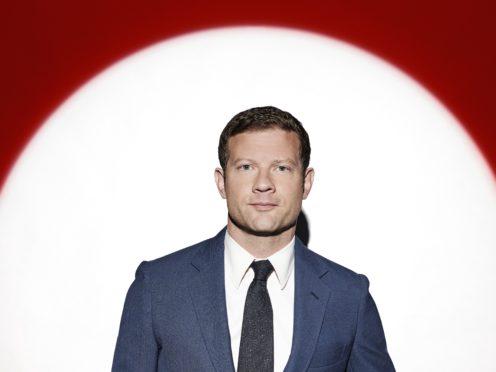 Dermot O'Leary on The X Factor: Celebrity (Talkback/PA)