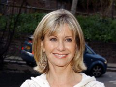 Olivia Newton-John has revealed she had no second thoughts about selling some of her most prized memorabilia for charity (Ian West/PA)