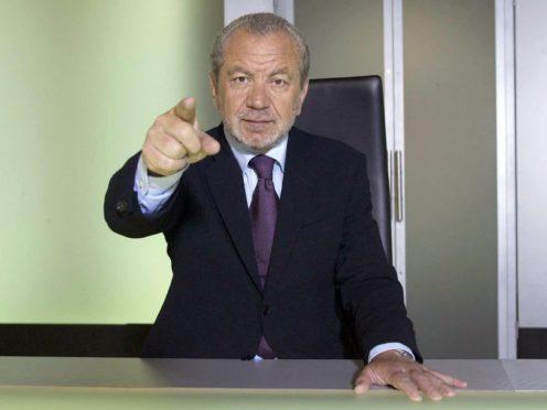 The Apprentice host Lord Alan Sugar. (Jim Marks/BBC)