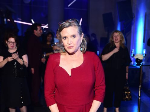 Carrie Fisher (Ian West/PA)