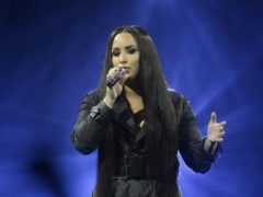 Demi Lovato has been on a 'spiritual' trip to Israel (John Linton/PA)