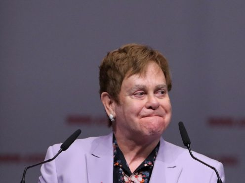 Sir Elton John has revealed he was successfully treated for prostate cancer two years ago (Gareth Fuller/PA)