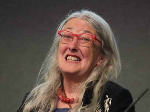 Professor Mary Beard had to strip to her underwear at Heathrow security (Niall Carson/PA)