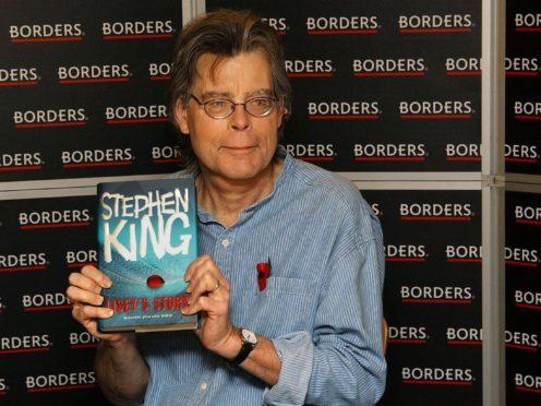 Stephen King (Joel Ryan/PA)