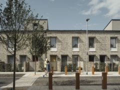 Goldsmith Street in Norwich, a housing estate comprised of almost 100 'ultra low-energy homes', has won a top architecture award (Tim Crocker/PA)