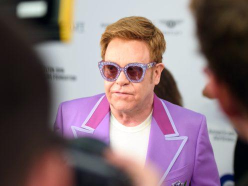 Sir Elton John: Nobody knew how close I came to dying (Matt Crossick/PA)