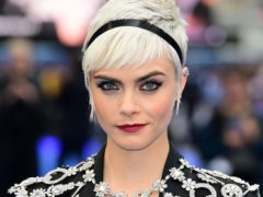 Cara Delevingne, who wants fashion to be more sustainable. (Ian West/PA)