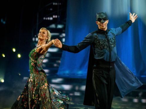 Nadiya Bychkova and David James (Guy Levy/BBC)