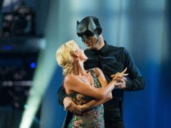 Nadiya Bychkova and David James on Strictly Come Dancing (Guy Levy/BBC/PA)