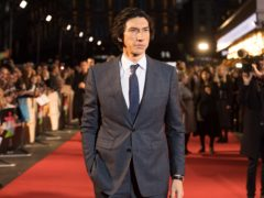 Adam Driver arriving for the Marriage Story premiere (David Parry/PA)