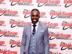 Charles Venn arriving for the Inside Soap Awards 2019 (Ian West/PA)