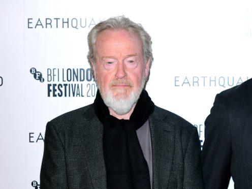 Sir Ridley Scott (Ian West/PA)