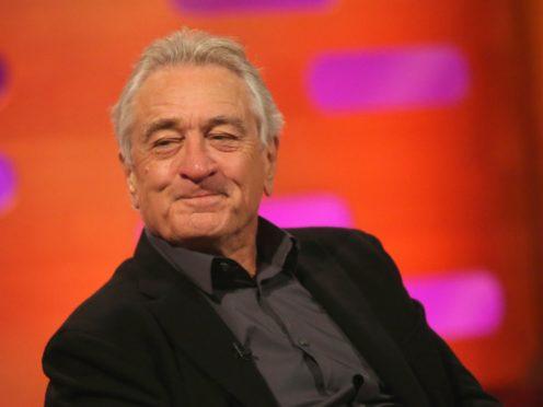 Robert De Niro: Donald Trump thinks he's a gangster but he has no honour (Isabel Infantes/PA)