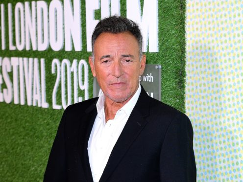 Bruce Springsteen attending the Western Stars Premiere (Ian West/PA)