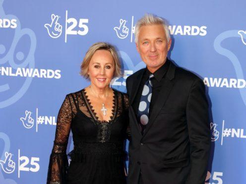 Shirlie Holliman and Martin Kemp (Isabel Infantes/PA)
