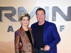 The premiere for Terminator: Dark Fate – starring Linda Hamilton and Arnold Schwarzenegger – has been cancelled due to wildfires (Ian West/PA)