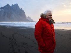 Sir David Attenborough on location filming Seven Worlds, One Planet (Alex Board)