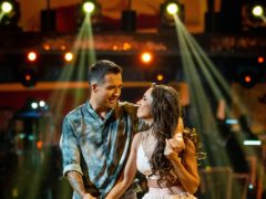 Will Bayley and Janette Manrara on Strictly Come Dancing (Guy Levy/BBC/PA)