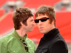 Noel and Liam Gallagher (Zak Hussein/PA)