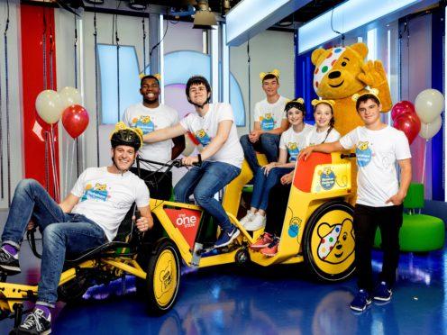 The One Show Rickshaw Challenge (BBC/PA)
