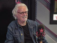 Billy Connolly on Chris Evans Virgin Radio Breakfast Show with Sky (Virgin Radio/PA)