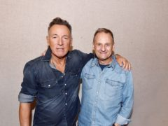 Bruce Springsteen and Mark Radcliffe (BBC/PA)