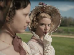 Mia Goth and Anya Taylor-Joy in Emma (Focus Features/Universal)