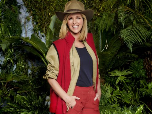 Kate Garraway on I'm A Celebrity… Get Me Out Of Here! 2019 (ITV/PA)