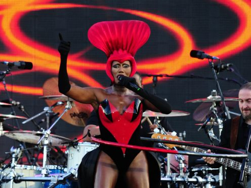 Grace Jones (Ian West/PA)