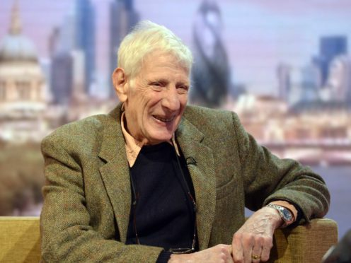 Jonathan Miller has died aged 85 (Jeff Overs/BBC)