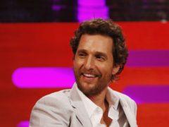 Matthew McConaughey (Jonathan Brady/PA)