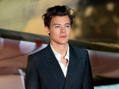Harry Styles has revealed the tracklist for his eagerly awaited new album (Lauren Hurley/PA)