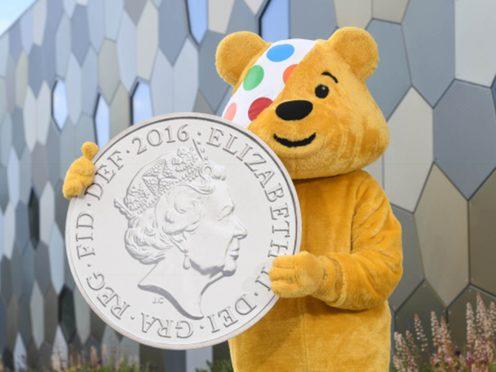 Pudsey bear on BBC Children In Need (Tom Martin/Treasury/PA)