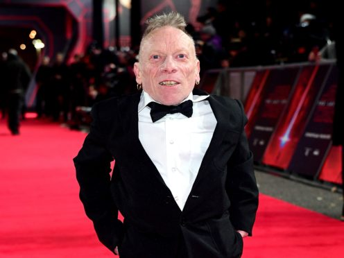 Jimmy Vee plays R2-D2 in Star Wars (Ian West/PA)