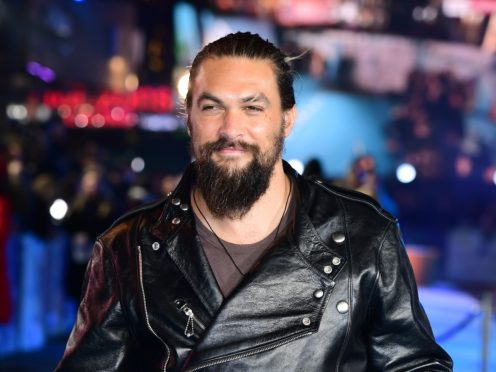 Jason Momoa said the bear needed to know his scent (Ian West/PA)