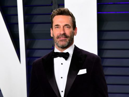 Actor Jon Hamm said he 'loved going to work everyday' while shooting his latest film with director Clint Eastwood (Richard Shotwell/Invision/AP)