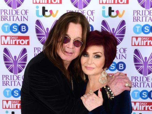 Sharon and Ozzy Osbourne (Ian West/PA)