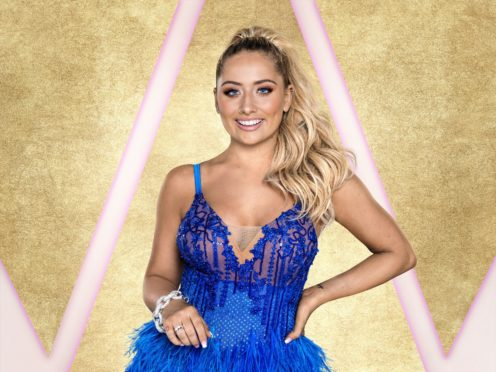 Saffron Barker has been distracted by her Strictly schedule (Ray Burmiston/BBC)
