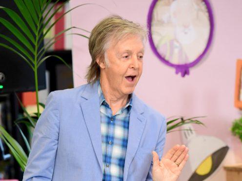 Sir Paul McCartney teases Glastonbury appearance in cryptic tweet (Ian West/PA)