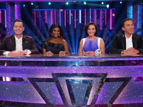 Judges Craig Revel Horwood, Motsi Mabuse, Shirley Ballas and Bruno Tonioli (Kieron McCarron/BBC)