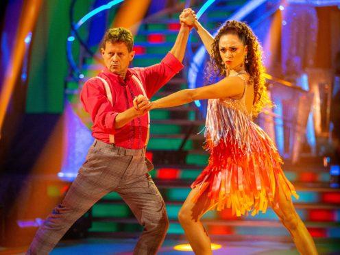 Katya Jones and Mike Bushell (Guy Levy/BBC)