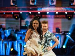 Neil Jones and Alex Scott (Guy Levy/BBC)