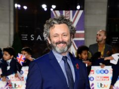 Michael Sheen arriving for the Pride of Britain Awards (PA)