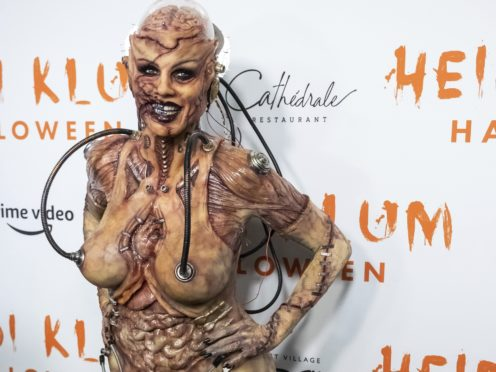 Heidi Klum attends her Halloween party (Charles Sykes/Invision/AP)
