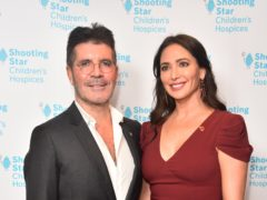 Simon Cowell and Lauren Silverman step out to support charity ball (Matt Crossick/PA)