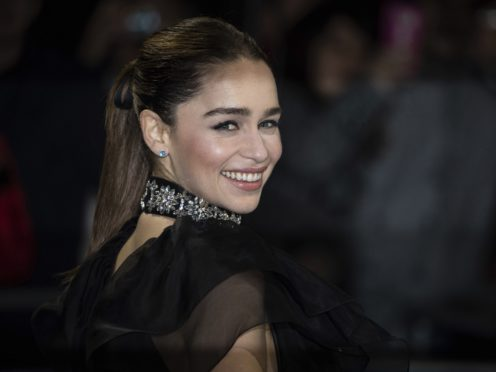 Emilia Clarke has revealed she felt uncomfortable with some of her nude scenes in Game Of Thrones (Vianney Le Caer/Invision/AP)